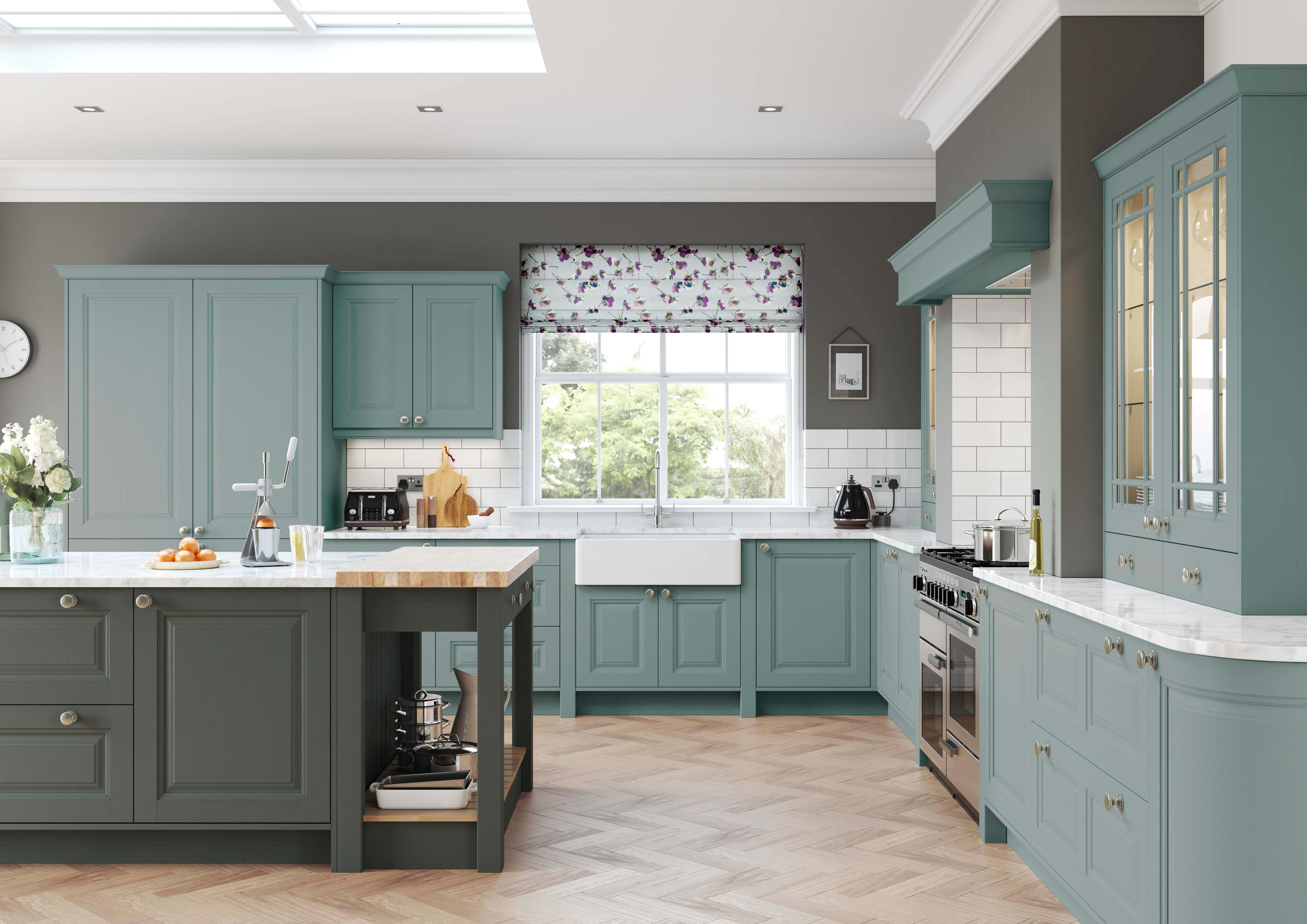 Charnwood kitchen Crestwood of Lymington
