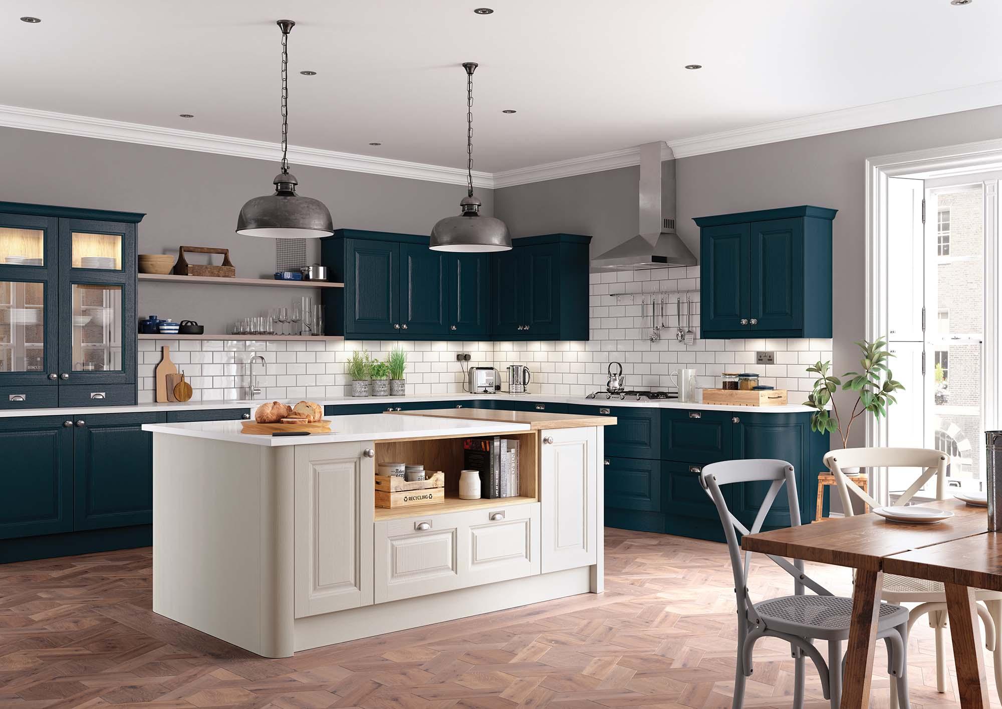 Charnwood kitchen Crestwood of Lymington