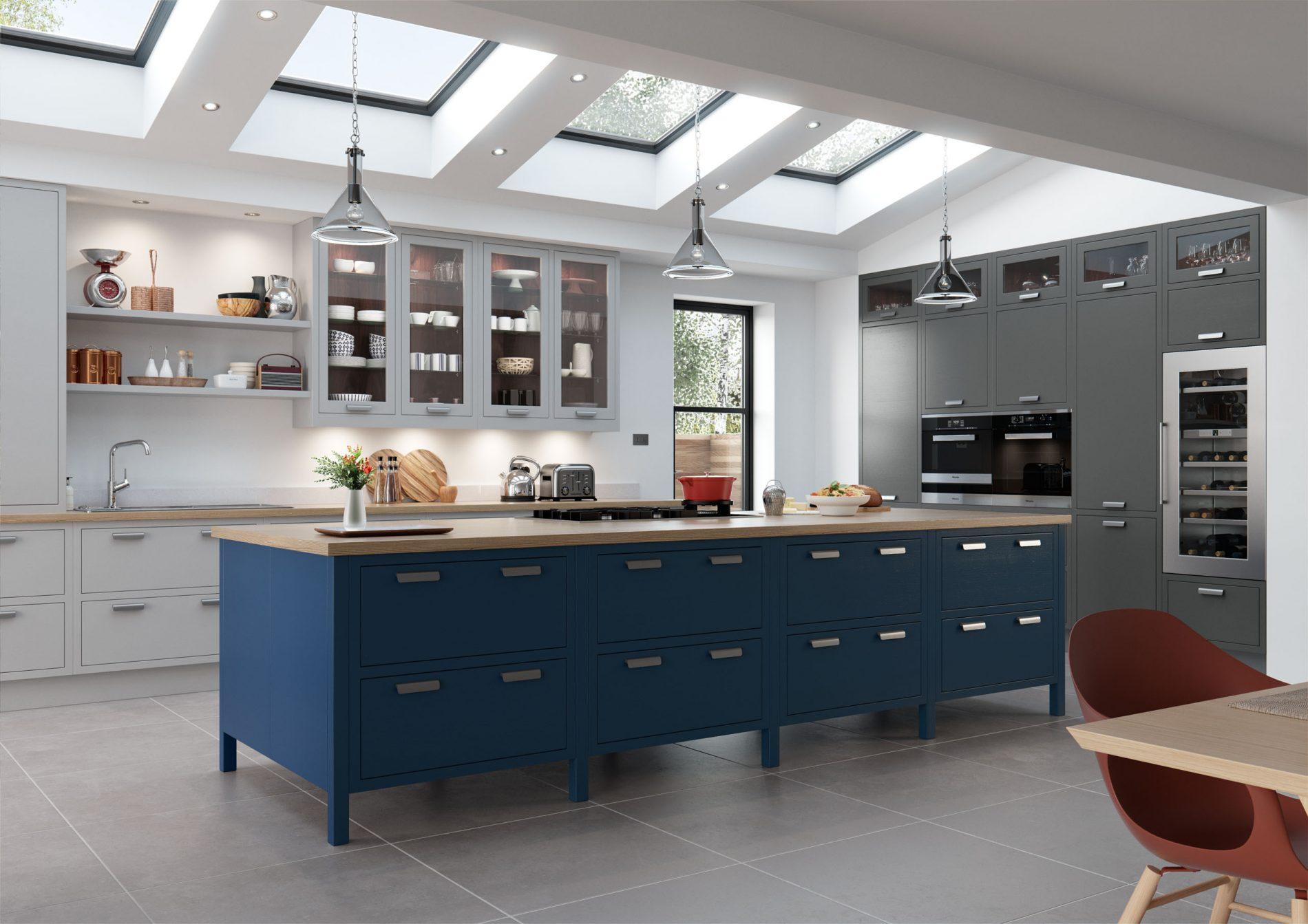 Luscombe kitchen Crestwood of Lymington