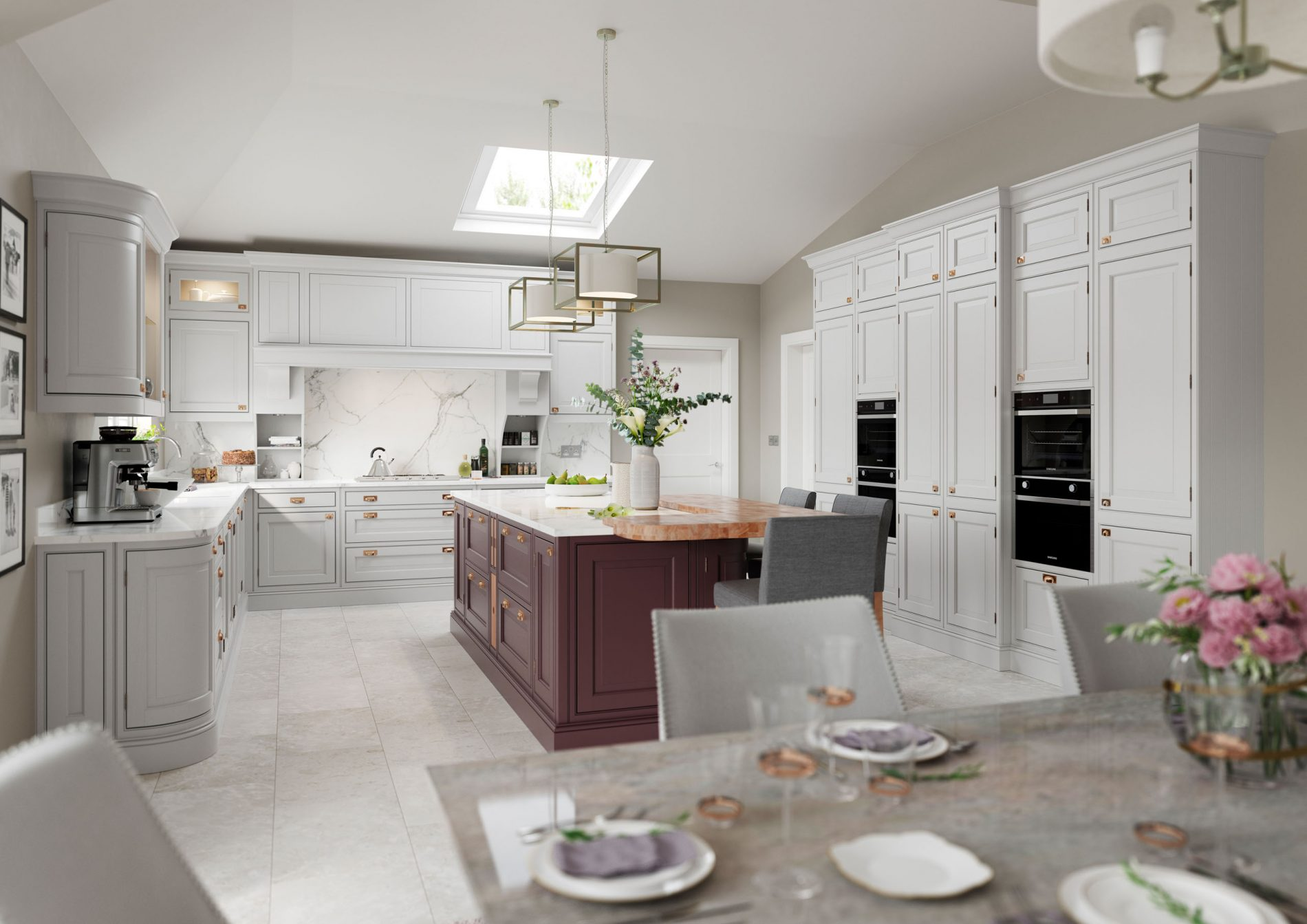 Powederham kitchen Crestwood of Lymington